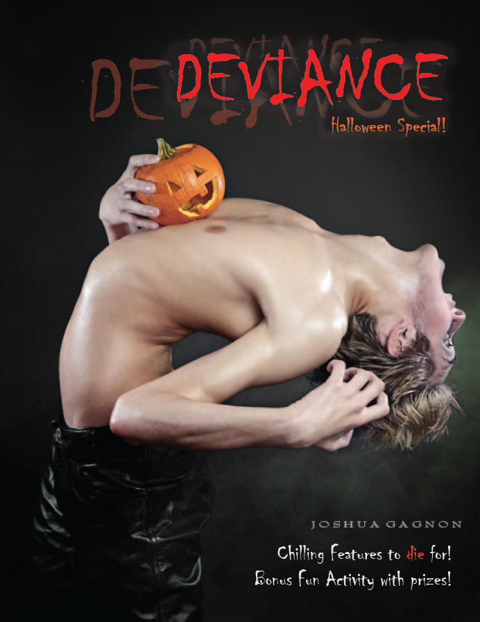 DEVIANCE Mag.: October 2009 by DEVIANCE-ZINE