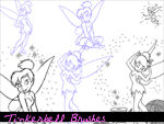 Tinkerbell Brushes