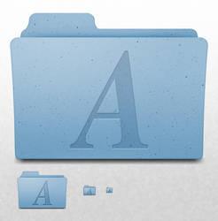 Mac OS X Folder - Fonts