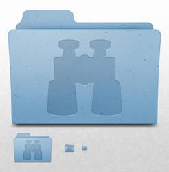 Mac OS X Folder - Binoculars
