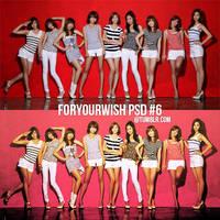 foryourwish psd 6 - snsd. by foryourwish