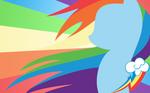 + Rainbow Dash Wallpaper +