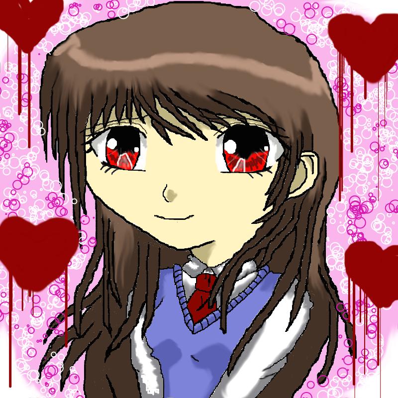 Shy Anime Girl By NekoMaidChan77
