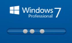Windows7blue Boot Screen by alphamx