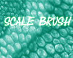 Scale brush