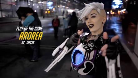 Ultraviolet Tracer cosplay POTG clip - Arorea by Arorea