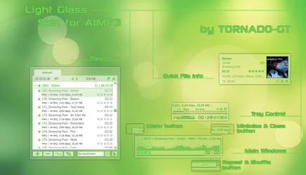Light Glass skin for AIMP3 by TORNADO-GT