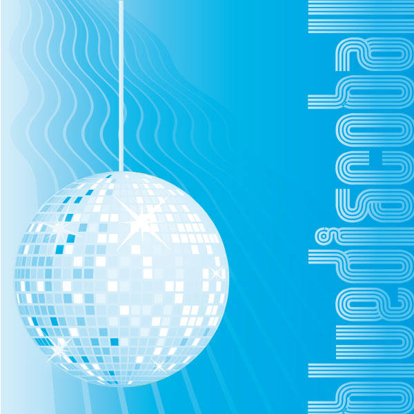 BlueDiscoBall by Calski