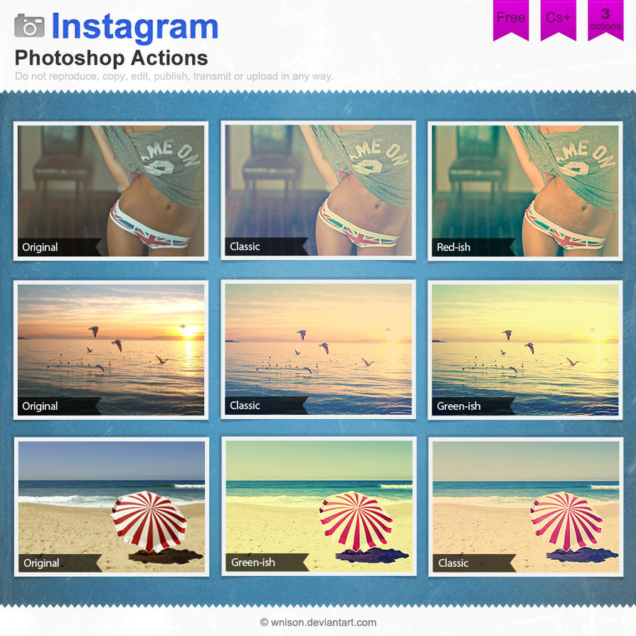 Instagram photoshop actions by wnison on deviantart instagram photoshop actions by wnison ccuart Image collections