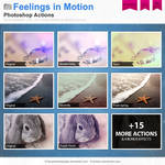 Feelings in Motion Photoshop Actions