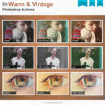 Warm and Vintage Photoshop Actions