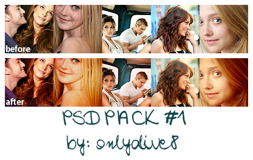 4 PSD pack by onlyalive8