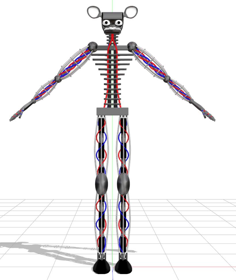 endoskeleton : DL by Waltervd on DeviantArt