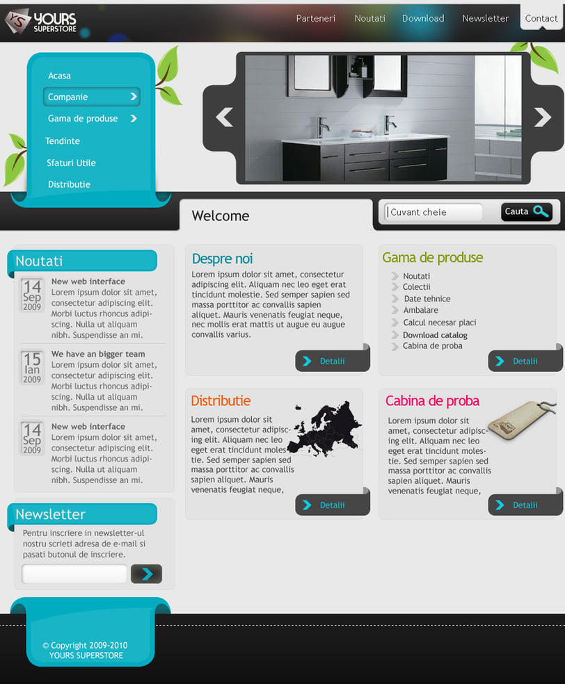 Website template for free by coleg on deviantart for Free online drawing websites