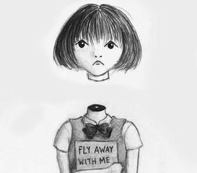 Absolutely normal schoolgirl by Popijawka
