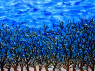 Trees by Popijawka