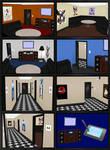 Karaoke Room + Hallway Models - for ComiPo!