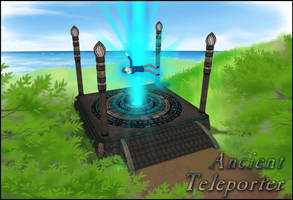 Ancient Teleporter - Model - for ComiPo!