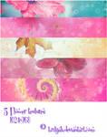 5 Flower textures