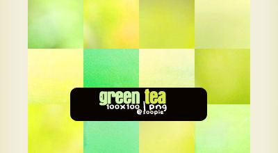 Soopke Icon texture set, Green Tea