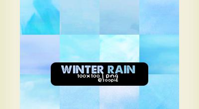Soopke Icon texture set, Winter Rain by Soop4evah