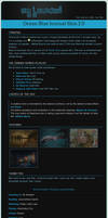 Ocean Blue Journal Skin 2.0