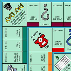 picture relating to Printable Monopoly Board identified as Best Monopoly Board (Printable) by means of CoolGamer3187 upon