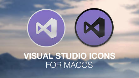 Visual Studio icon redesign for macOS (Dark/Light) by DennisBednarz