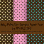 Baby Polka Dot Sample Paper Pack