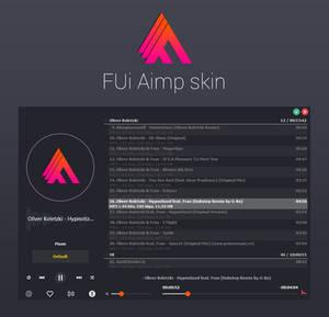 FUI AIMP Skin (Pre-Release)