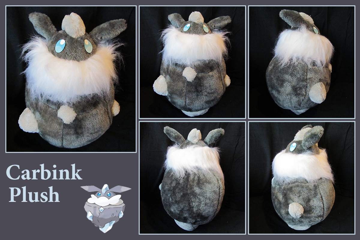 Carbink Plush (with free sewing pattern)