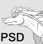 [FREE LINEART] Kyril PSD by Kepidemic