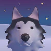 [COMMISSION] Animated Husky Avi V.2