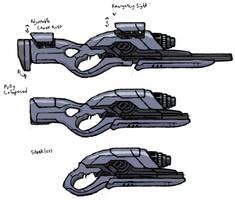 Aeon's Graviton Rifle