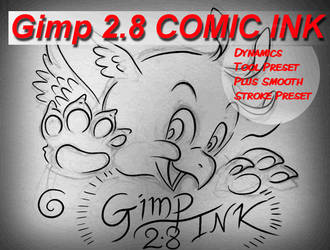 Gimp Comic Ink by SirWillPerkins