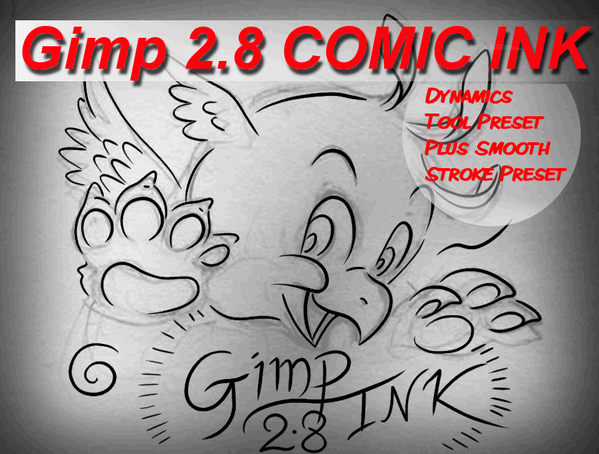 Line Art In Gimp : Gimp comic ink by sirwillperkins on deviantart