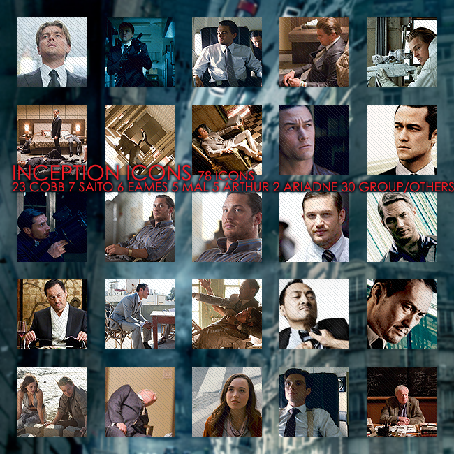 Inception Icons by elanorchuah