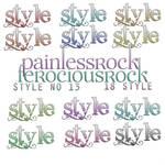 FerociousRock Style No 13