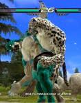 Tekken 6 - King grabs an other King [animated]