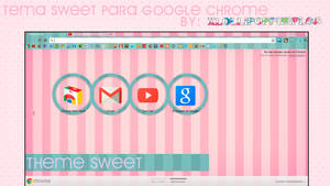 Tema Para Google Chrome ''Sweet'' by xLollipopPurple