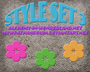 STYLE SET 3 by mywrathandruin