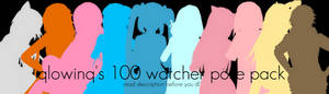 qlowinq's 100 watcher pose pack // dl