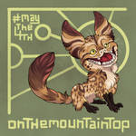 May the Fourth - Loth Cat by OnTheMountainTop