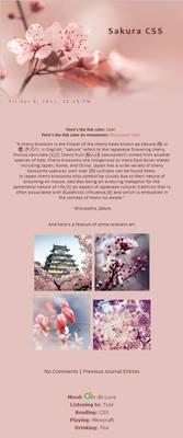 Installable Spring-Sakura Skin