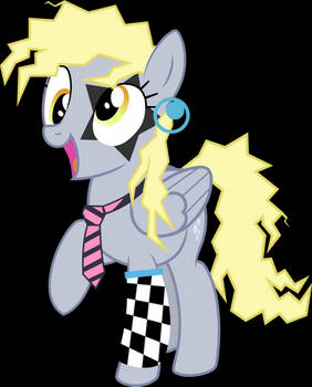 80's Derpy - Ponies the Anthology III