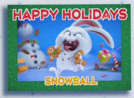 Holiday greetings from Snowball by LumenBlurb