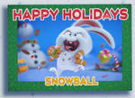 Holiday greetings from Snowball
