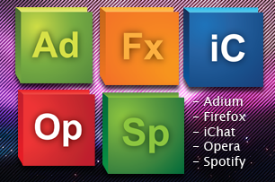 CS5 Icon Pack PNG by iMushDesing