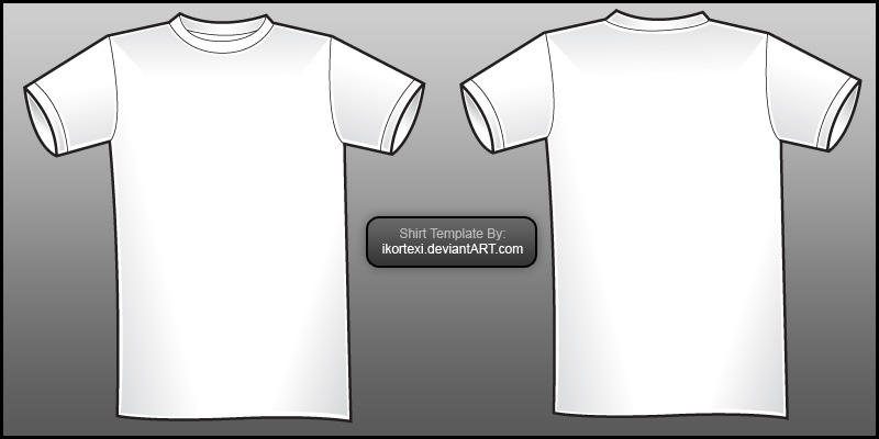 TshirtVectorTemplateV By Gopurifyyourself On Deviantart