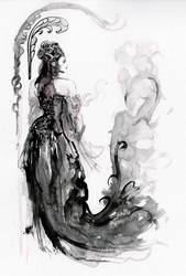 Princess Chandramukhi... by BlueMillenium